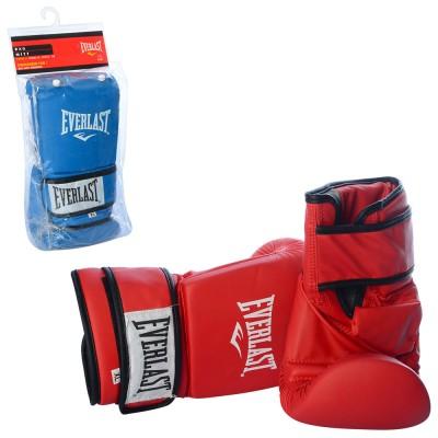 Перчатки боксерские спарринговые PU Everlast (S,M.L.XL) (MS 1947)