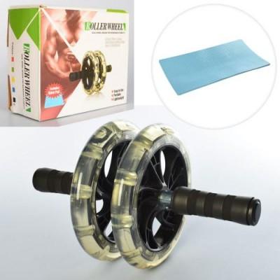 Тренажер ролик (колесо) для мышц пресса OSPORT (MS 2212-1)