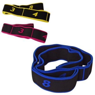 Резинка для фитнеса и спорта (лента эспандер) эластичная OSPORT (MS 2238-1)