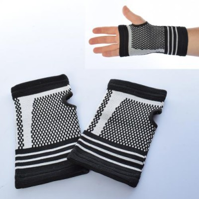 Перчатки спортивные (атлетические, тренировочные) для зала и фитнеса с защитой запястья Profi (MS 2824)