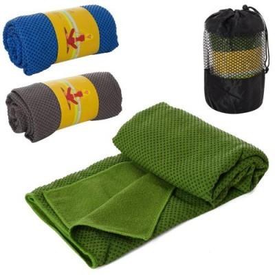 Полотенце тканевое для йоги с силиконовыми вкраплениями OSPORT (MS 2857-1)