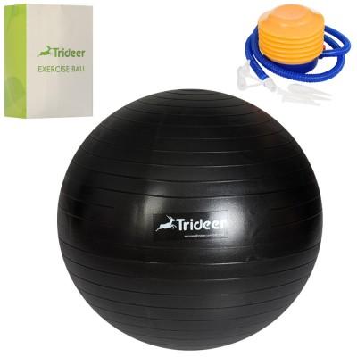 Мяч для фитнеса (фитбол) сатин 55см с насосом Trideer (MS 3217)
