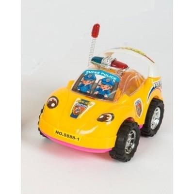 Машинка заводная со светоигрой Profi (S 888-1)