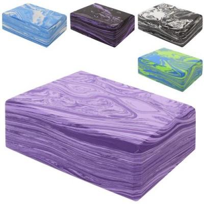 Кирпич для йоги (йога блок) OSPORT EVA Marble (MS 0858-1)