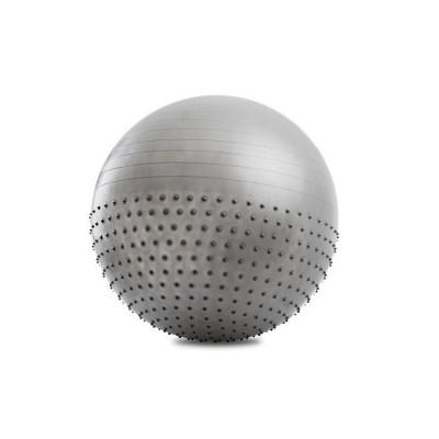 Мяч для фитнеса гимнастический (фитбол) полумассажный 65см OSPORT (MS 1652)