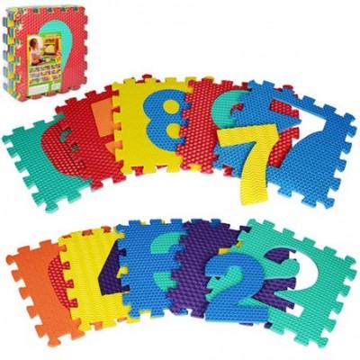 Коврик мозаика RoyalToys M 2608 цифры