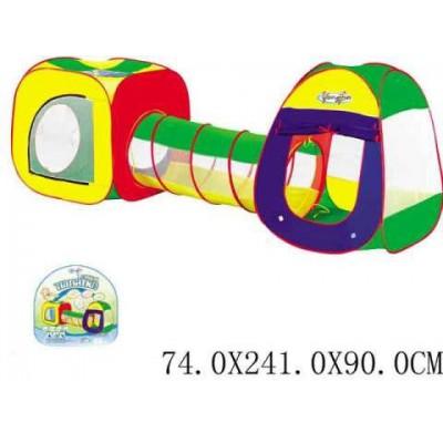 Палатка RoyalToys 889-7B (923943) две секции - тоннель