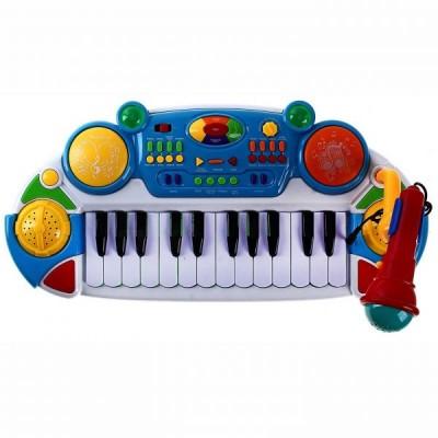 Пианино RoyalToys 7234b голубое