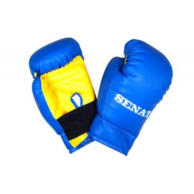 Перчатки боксерские SENAT 4 унций, кожзам