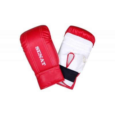 Снарядные перчатки для бокса SENAT, кожзам