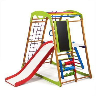 Детский спортивный комплекс 132х85х130см SportBaby (BabyWood Plus 3)