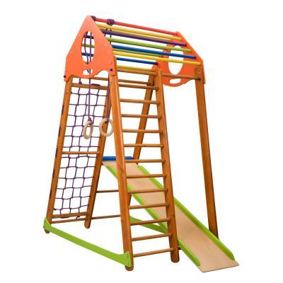 Детский спортивный комплекс 132х85х170см SportBaby (BambinoWood)