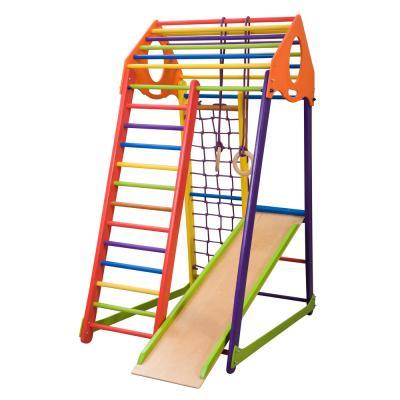Детский спортивный комплекс 132х85х170см SportBaby (BambinoWood Color)