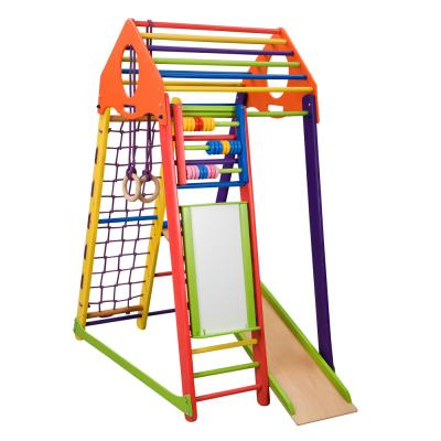 Детский спортивный комплекс 132х85х170см SportBaby (BambinoWood Color Plus)