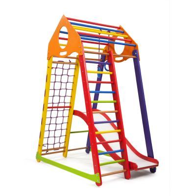 Детский спортивный комплекс 132х85х170см SportBaby (BambinoWood Color Plus 1)