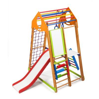 Детский спортивный комплекс 132х85х170см SportBaby (BambinoWood Plus 3)