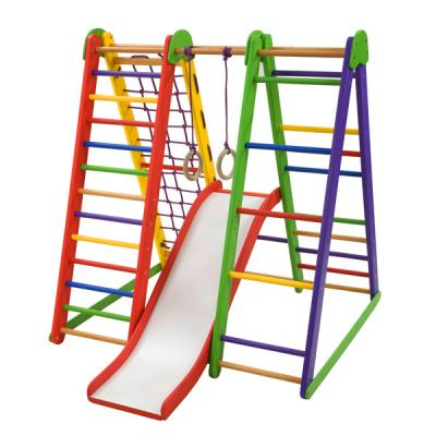 Детский спортивный уголок 130х100х130см SportBaby (Эверест 4)