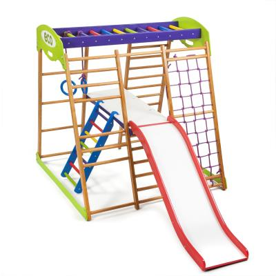 Детский спортивный комплекс 132х124х130см SportBaby (Карамелька Plus 2)