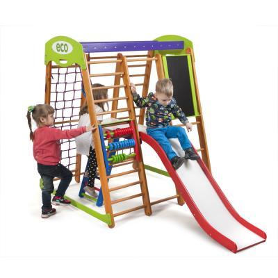 Детский спортивный комплекс 132х124х150см SportBaby (Карапуз Plus 3)
