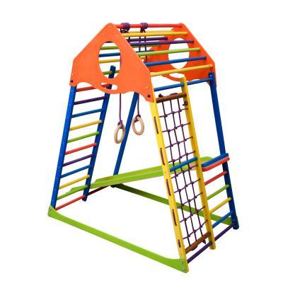 Детский спортивный комплекс 132х85х150см SportBaby (KindWood Color)
