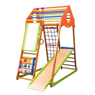 Детский спортивный комплекс 132х85х150см SportBaby (KindWood Plus)