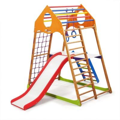 Детский спортивный комплекс 132х85х150см SportBaby (KindWood Plus 2)