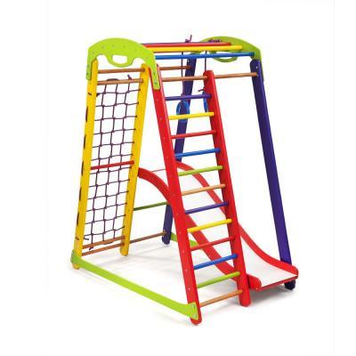 Детский спортивный комплекс 132х85х150см SportBaby (Кроха-1 Plus 1)