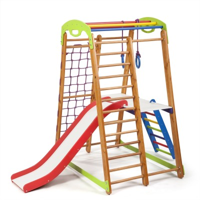 Детский спортивный комплекс 132х85х150см SportBaby (Кроха-2 Plus 2)