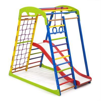 Детский спортивный комплекс 132х85х130см SportBaby (SportWood Plus 1)