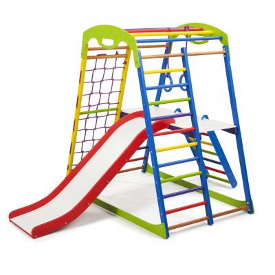 Детский спортивный комплекс 132х85х130см SportBaby (SportWood Plus 2)