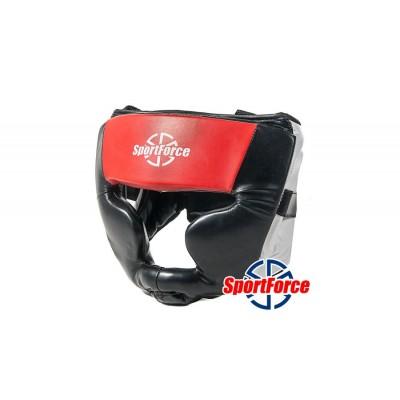 Тренировочный шлем для бокса и единоборств SportForce