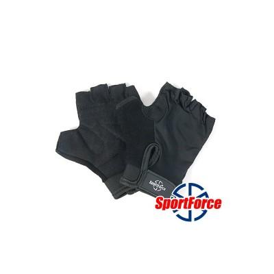 Перчатки для фитнеса SportForce, неопрен  SF-FG01