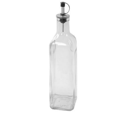 Бутылка дозатор для масла стеклянная (диспенсер уксуса) с дозатором 500мл Stenson (R83059)