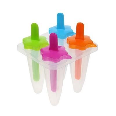 Формы для изготовления мороженого и леденцов (конфет) на 4 порций 12 см Stenson (R21135)