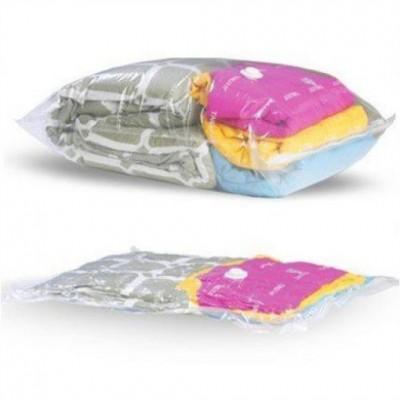 Вакуумный пакет (чехол) для хранения вещей (одежды обуви и головных уборов) 70*100 см Stenson (R26110)