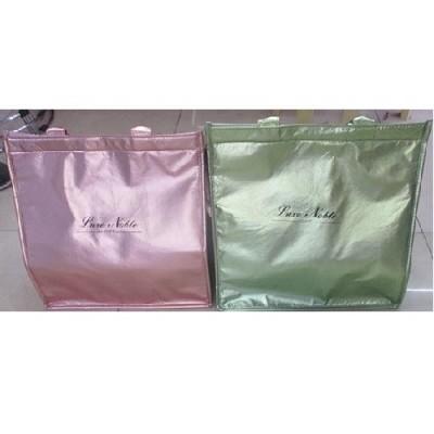 Термосумка (сумка-холодильник, термобокс) для еды и бутылочек с ручками 25*25*8см Stenson (R26902)