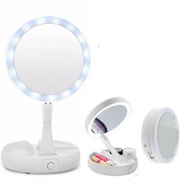 Зеркало для макияжа (косметическое) с led-подсветкой 16*28,5см MyFoldAway Stenson (R86662)