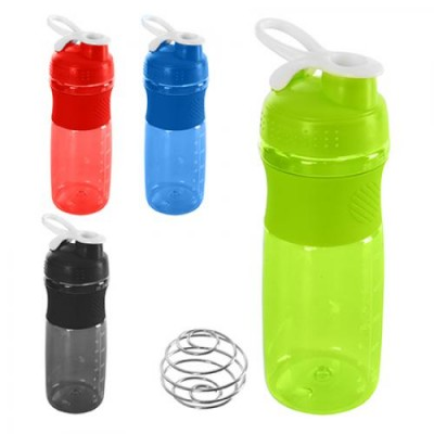 Спортивный шейкер (бутылочка для воды) пластиковый 500мл Stenson (J00192)