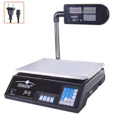 Весы торговые электронные настольные от 0 до 40кг Stenson (ME-0901)