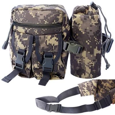 Барсетка (сумка) мужская тактическая для охоты и туризма на пояс 18х14см Stenson (N02250)