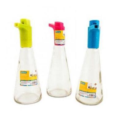 Бутылка для масла стеклянная с дозатором 23х9х8см Stenson (R15369)