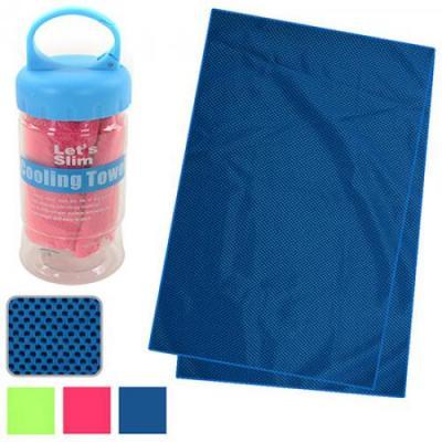 Спортивное полотенце охлаждающее в тубусе 31х88см Stenson (R22765)