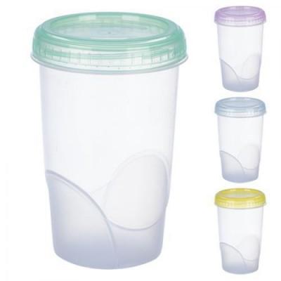Контейнер пластиковый для пищевых продуктов цилиндрический 600мл Stenson (РТ-83481)