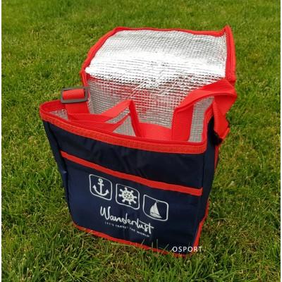 Термосумка (сумка-холодильник, термобокс) для еды и бутылочек с ручками 10 л Wanderlust (R28803)