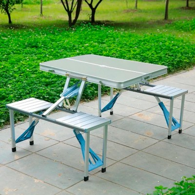 Туристический стол раскладной трансформер походной для кемпинга и рыбалки Stenson (MH-3302)