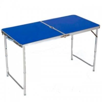 Туристический раскладной усиленный стол чемодан для пикника и рыбалки, кемпинга Stenson (MH-3089XL)