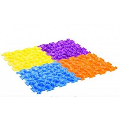Массажный коврик для взрослых жесткий Цветные камешки М-516