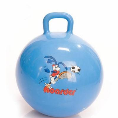Гимнастический мяч с ручкой 60 см М-360