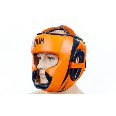 Шлем боксерский с полной защитой FLEX ELAST VL-8208