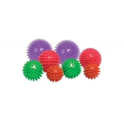 Мячик массажер резиновый Zelart FI-2117-8, 8см